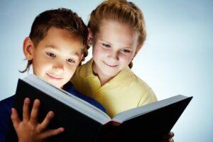 Image of smart children